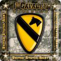 Army 1st Cavalry Division 4 Inch Coasters 6 Pack