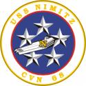 CVN-68 USS Nimitz Decal