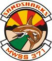 SAND SHARKS MWSS-371 DECAL