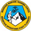 MOUNTAIN WARFARE MOUNTAIN OPERATIONS STAFF PLANNERS DECAL