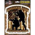 AMERICA'S BEST ARE NOT IN AMERICA DECAL