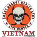 Agent Orange Health Club Decal