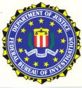 Department of Justice, Federal Bureau of Investigation Decal