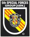 Special Forces 5th Group (Vietnam) Decal