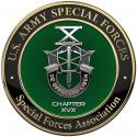 Special Forces Association All Metal Sign with your Association Number on it  14