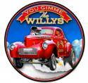 3-D GIMME THE WILLY'S Metal Sign