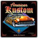 AMERICAN KUSTOM All Metal Sign