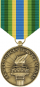 Armed Forces Service Medal Decal
