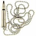 .17 Caliber Nickel Necklace