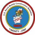 Naval Mobile Construction Battalion 21  Decal
