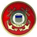 Coast Guard Logo Pin