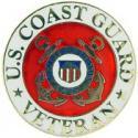 Coast Guard Veteran Pin