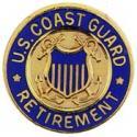 Coast Guard Retired Pin
