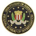 Department of Justice FBI Pin