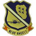 Blue Angels Logo with Tab  Pin