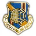 23rd Air Force Pin