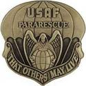 Air Force Pararescue Para Jumper Badge