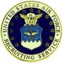Air Force Recruiting BDG Pin