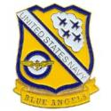 Blue Angels Logo 40th Anniversary Pin