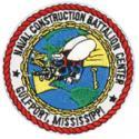 Naval Construction Battalion Center Gulfport Mississippi Patch
