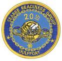 20th Naval Construction Regiment Patch