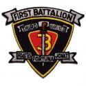 1st Battalion 1st Marines Patch