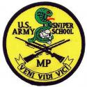 Army Sniper School Patch