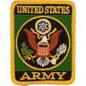 Army Logo Rect. Patch