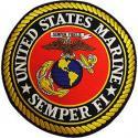 Large USMC EGA Logo Patch