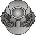 Scuba Diver (Silver)
