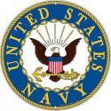 U.S. Navy ALUMINUM LOGO