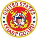 Coast Guard ALUMINUM Sign