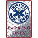 EMERGENCY MEDICAL SERVICE ALUMINUM Sign