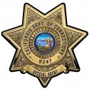California Department of Correction (SPECIAL AGENT) with your Badge Number Added