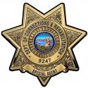 California Department of Corrections and Rehabilitation (SPECIAL AGENT)  Badge a