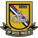39th Special Forces Detachment Korea with Master Jump Wings (SF) Group Airborn