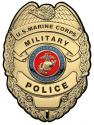 US Marine CORPS Military Police  All Metal Sign 12 x 16""