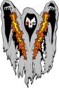 Spooky II Decal