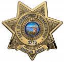 California Department of Corrections and Rehabilitation (Associate Warden)  Badg