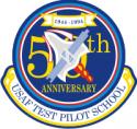 USAF Test Pilot School 50th Anniversary  Decal