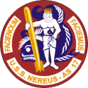 AS-17 USS Nereus Decal