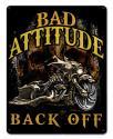 BAD ATTITUDE BAD ASS BAGGER