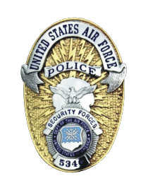 Usaf Security Police Badge Decal North Bay Listings